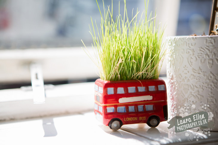 Routemaster flower pot