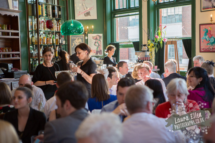 The Peasant Clerkenwell Restaurant wedding