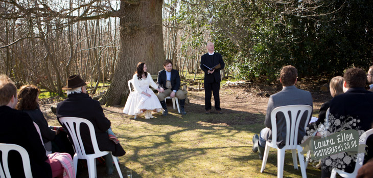 Sussex hand fasting ceremony