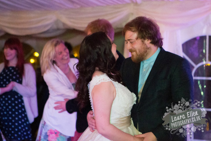 Bride and Groom first dance at East Sussex wedding