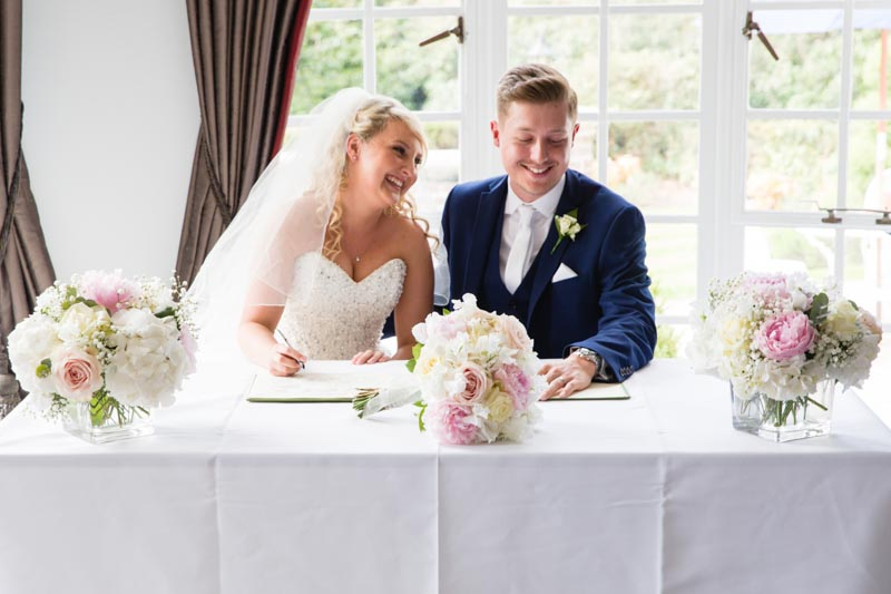 Gorse Hill wedding