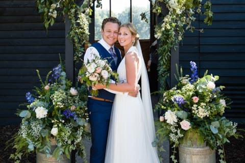 The Sussex Barn wedding
