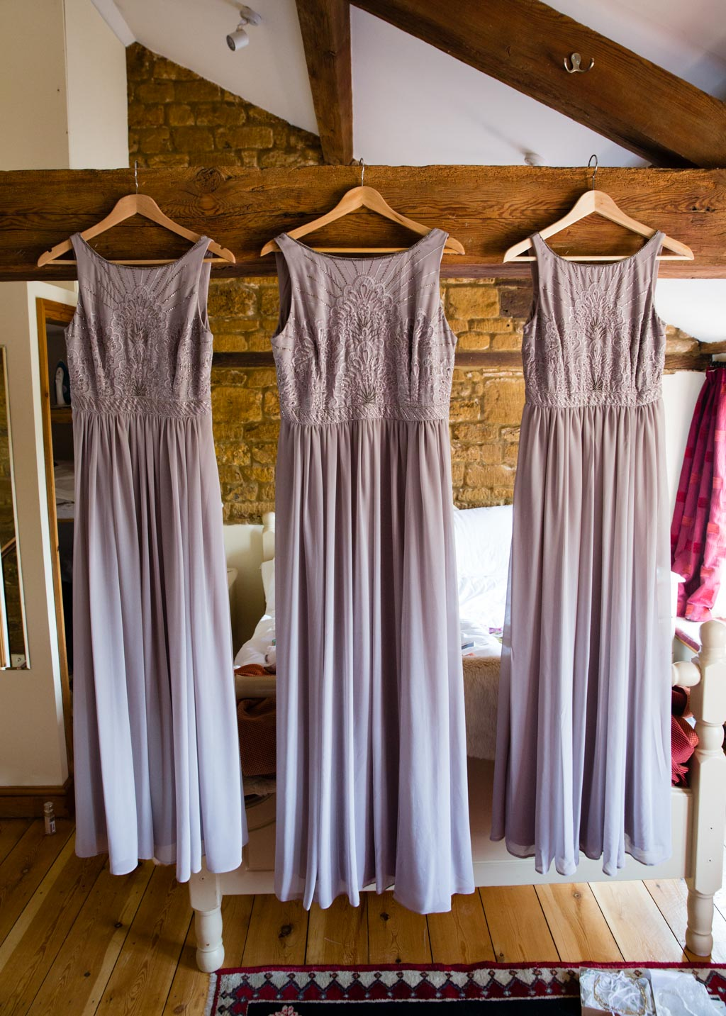 long grey beaded bridesmaid dresses