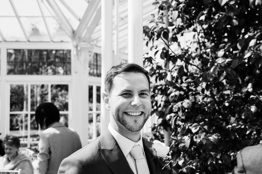 groom at Chiswick House and Gardens