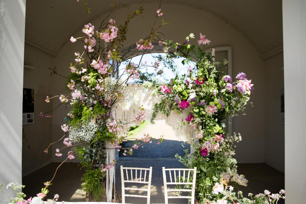 All for Love Florist flower arch