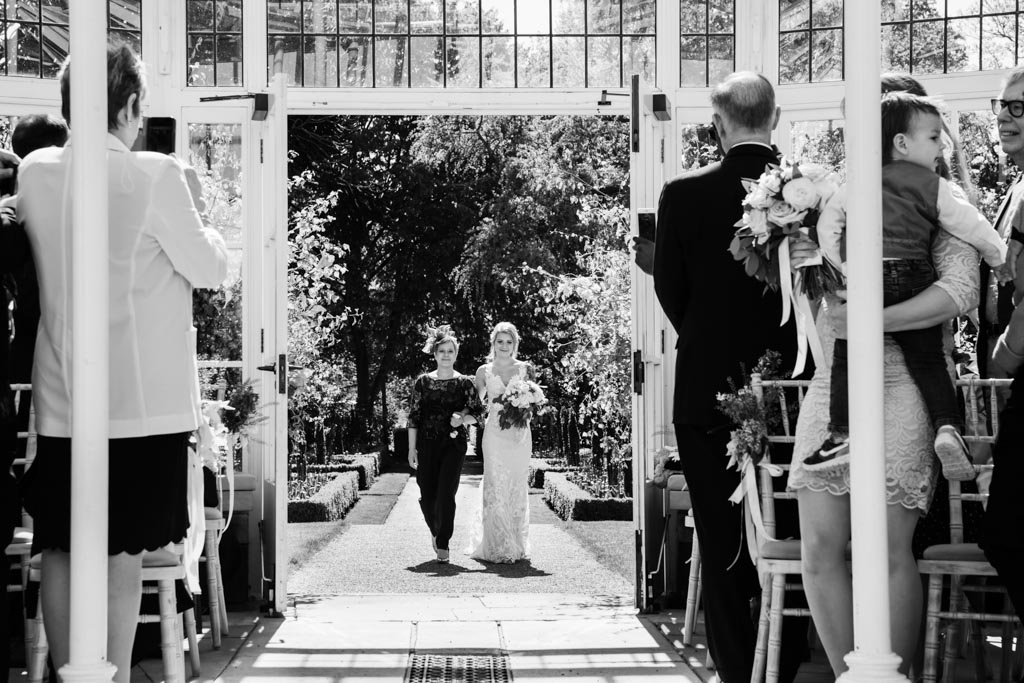 bride and mother of the bride Chiswick House and Gardens
