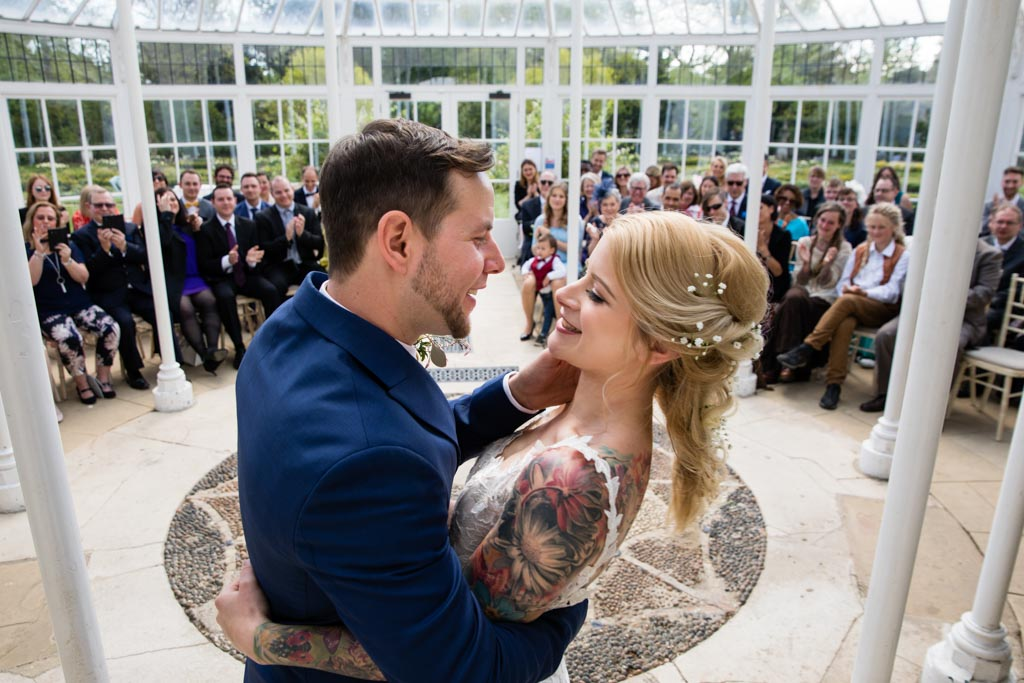 getting married at Chiswick House and Gardens