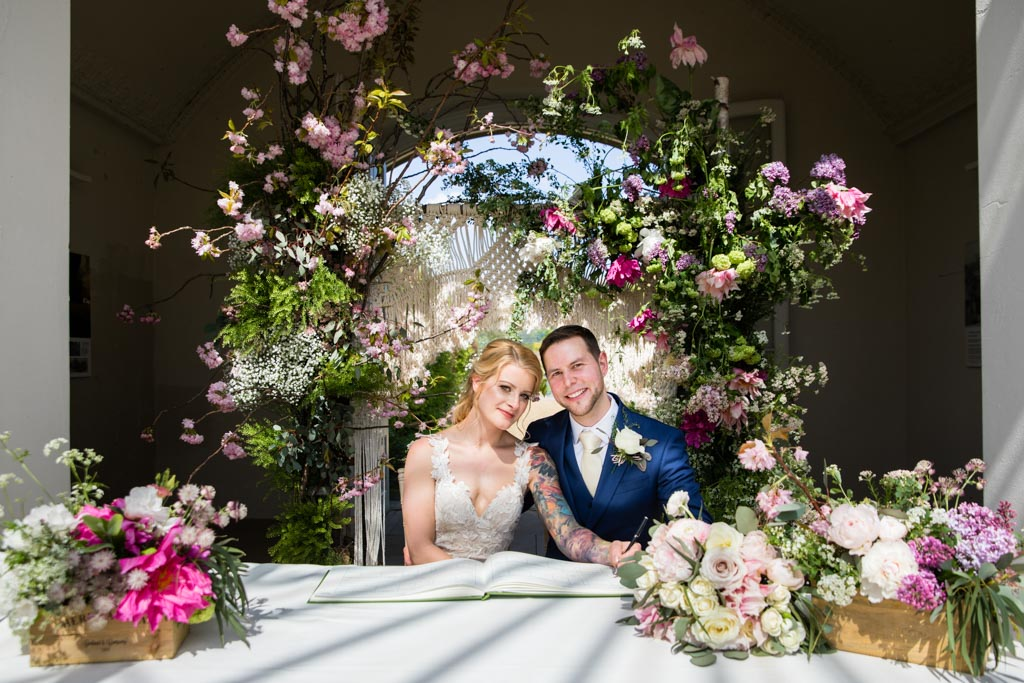 Chiswick House and Gardens wedding
