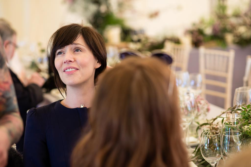 guests at Chiswick House wedding