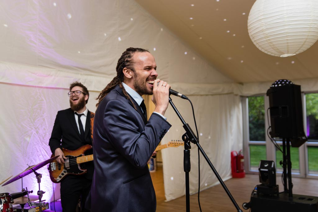 wedding band at Chiswick House and Gardens wedding