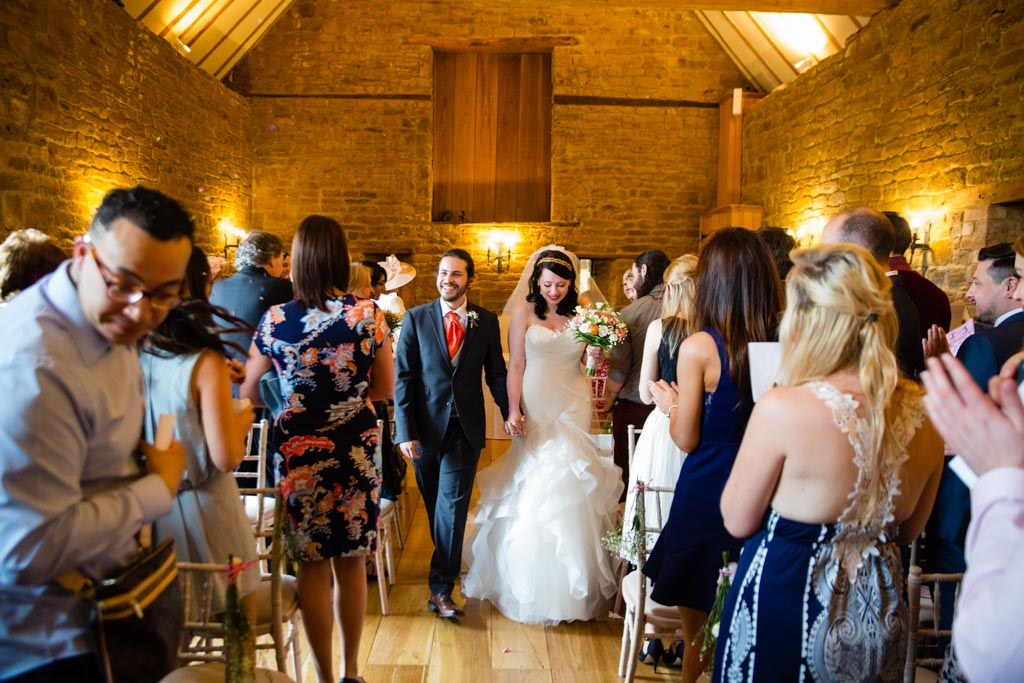 ceremony barn at Crockwell Farm