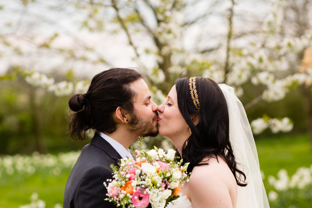 spring wedding at Crockwell Farm